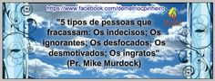 Frase Do Pr. Mike Murdock