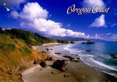 Орегон, берег