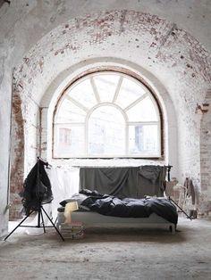 Brick Window Alcove