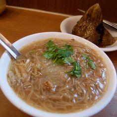麵線 肉粽 Food in Taiwan