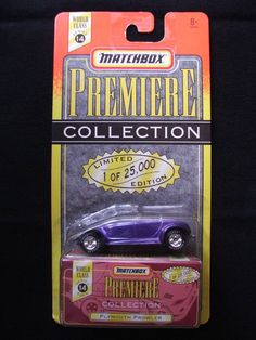Matchbox Premiere Collection Limited Edition 1 Of 25,000 Plymouth Prowler.