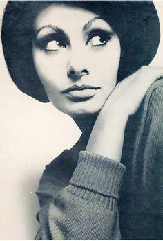 Sophia Loren by Richard Avedon, 1960�s.