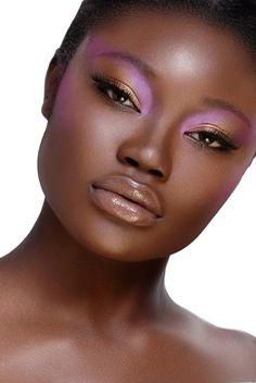 Eyeshadow Makeup Tips Ideas For Black Women 19 Makeup Trends, Makeup Inspo, Makeup Inspiration, Makeup Tips, Beauty Makeup, Makeup Products, Pink Lip Gloss, Dark Skin Makeup, Pink Eyes