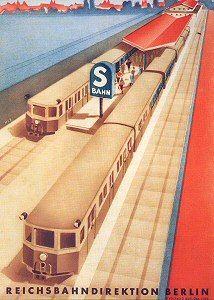 Reichsbahn-Werbung in den 20ern
