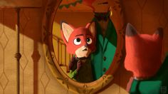 Nick Wilde, the younger self and the present self