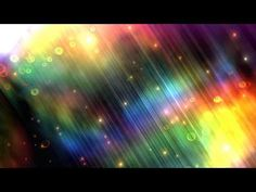 60FPS HD Background Rainbow Flares Bubble Strips Animation - YouTube