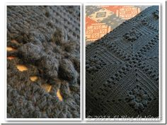 mantas tejidas a crochet pinterest - Buscar con Google
