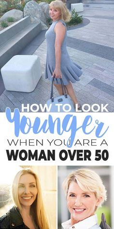 Are you a woman over 50 who wants to learn how to look younger? Try these 12 tricks to make you look younger, tomorrow! Anti Aging Tips, Best Anti Aging, Makeup For Older Women, Ordinary Girls, Beauty Hacks, Beauty Tips, Beauty Stuff, Beauty Secrets, Slim
