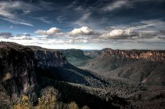 Blue Mountains in Australia on GlobalGrasshopper.com a World Heritage Site
