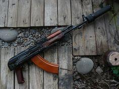 Military Weapons, Weapons Guns, Guns And Ammo, Assault Weapon, Assault Rifle, Rifles, Ak 47, Cool Guns, Fantasy Weapons