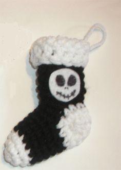 Nightmare Before Christmas Jack mini stocking