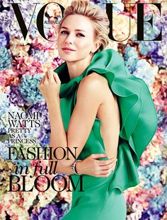 VOGUE AUSTRALIA Love this cover. Naomi Watts in Gucci.