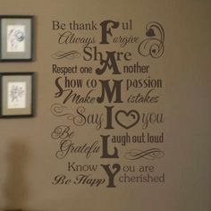 13 Best Written Wall Decals Images