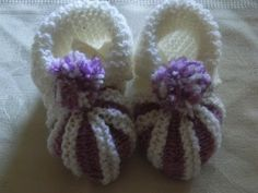 DIY Baby Schuhe Balerinas Stricken Knitting*Tutorial Handarbeit, My Crafts and DIY Projects
