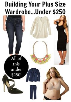 Style Q: Building Your Plus Size Fashion Wardrobe … Under $250