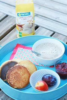 Pancakes sans GLO avec le Mix Bjorg