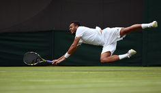 Jo-Wilfried Tsonga Wimbledon 2014  ©AELTC #Tsonga #Wimbledon #Tennis
