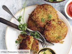 Recette Röstis . Ingrédients (4 personnes) : 400 g de pommes de terre, 1 oignon, 1 petit œuf... - Découvrez toutes nos idées de repas et recettes sur Cuisine Actuelle