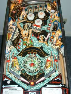 I loved playing pinball at the snack bar at the beach! Especially Flash!
