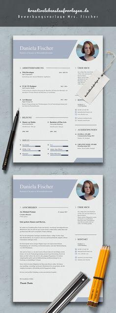 Lebenslauf-Muster-Vorlage | Resume | Pinterest | Layouts, Layout ...
