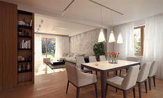 Projekt domu Kadyks 157,68 m2 - koszt budowy - EXTRADOM House Plans 2 Storey, 2 Storey House Design, Bungalow, Dining Table, Furniture, Home Decor, Play, Ideas, Modern House Facades