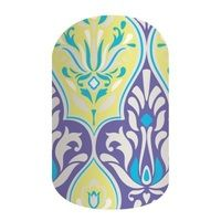 Jamberry | Bright Deco (matte finish) | Retired