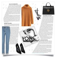 """Yoins contest"" by jasmina-fazlic ❤ liked on Polyvore featuring Gucci, women's clothing, women's fashion, women, female, woman, misses and juniors"