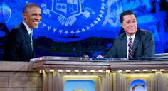 Pres. Obama to @StephenAtHome: My girls 'tease me mercilessly' http://on.today.com/1yygEow