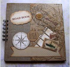 La réalisation d'une couverture de road book.