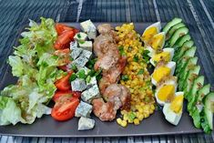 Puplisher - Welcome Keto Fastfood, Cobb Salad, Enjoy Your Meal, Cooking Recipes, Healthy Recipes, Le Diner, Health Eating, Vegetable Salad, Food Presentation