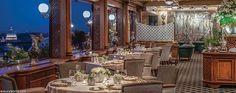 The only restaurant in Rome awarded with three Michelin Stars. / El único restaurante en Roma galardonado con tres estrellas Michelin.