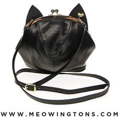 """""""Can't Get Enough Of My New Cat Purse! Get Your Own at 40% OFF Using PROMO CODE: """"INSTAMEOW"""" For A Limited Time Only at www.meowingtons.com. Don't Forget…"""""""