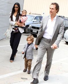 Be just like Dad in our Appaman Mod Suit in Mist.