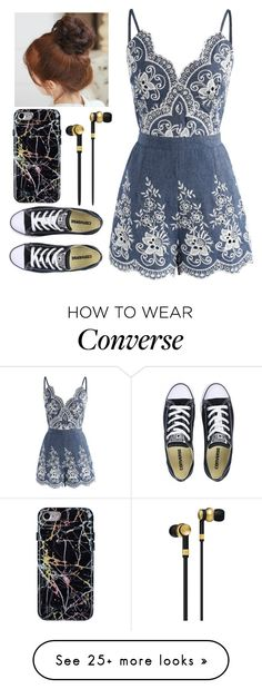 """""""Love begins by taking care of the closest ones ? the ones at home"""" by christmas-moonlight on Polyvore featuring Chicwish, Converse, Pin Show and Master & Dynamic"""