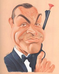 Caricature Collection: Sean Connery