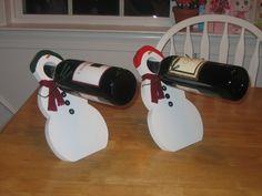 Wine bottle balancers - by rooster @ LumberJocks.com ~ woodworking community