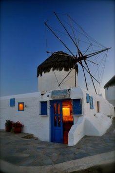 GREECE CHANNEL   WindMill Mykonos Island, Greece
