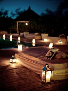 Relaxing place to listen and talk some. Wouldn't mind sleeping under the stars.