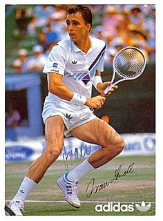 The great Ivan Lendl. The first to emphasize overall fitness training in tennis. Coached Andy Murray of Scotland to his only 2 slam titles to date. Split in Tennis Tips, Sport Tennis, Tennis Doubles, Adidas Retro, Tennis Legends, Wimbledon Tennis, Tennis World, Tennis Workout, Vintage Tennis