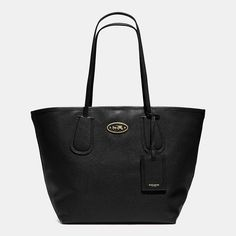 COACH TAXI TOTE 28 IN LEATHER