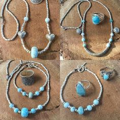 #Repost @staywild_aus  #Larimar and silver message me for prices and details #hilltribesilver #ocean #surf #summer #love #blues #wanderlust #bohemian #gypsy #beach