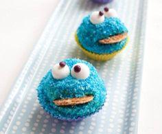 Koekiemonster cupcakes recept | Dr.Oetker