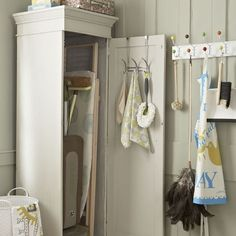 Compact storage cupboard | Traditional utility rooms | housetohome.co.uk | Mobile