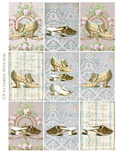tattered vintage | ... wallpaper collage sheet tattered vintage 414 from tatteredvintage