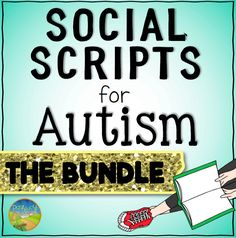 Social scripts for autism that focus on life skills, school, friendships, and emotions.