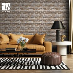 Get ready to embrace a warm bliss by spicing up your interiors with this majestic wall cladding stone. Interior Walls, Living Room Interior, Decor Interior Design, Interior Decorating, Stone Wall Living Room, Living Room Wall Designs, Room Wall Tiles, Wall Tiles Design, Wall Cladding Tiles