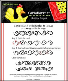 Carla swirls and berries - and a bunch of other amazing tutorials