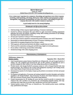 Cool Create Your Astonishing Business Analyst Resume And Gain The