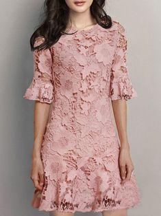 67 Ideas Crochet Lace Dress Pattern Sleeve For 2019 Lace Dress Pattern, Crochet Lace Dress, Dress Patterns, Crochet Patterns, Cheap Maxi Dresses, Casual Dresses, Women's Dresses, Party Dresses, Dress Brukat
