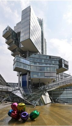 NordLB Headquarters ......Masterpiece The headquarters of the German bank Nord LB in Hannover . by lara